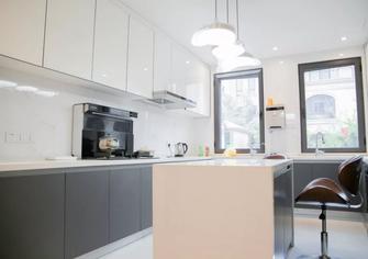 140平米四室五厅美式风格厨房图片