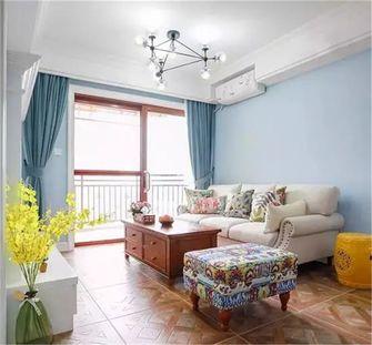 70平米美式风格客厅装修图片大全