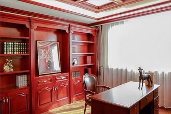 120平米四室两厅英伦风格书房效果图
