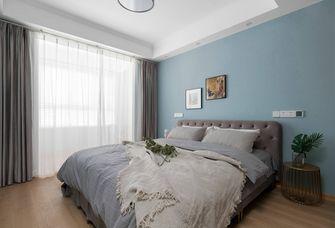 110平米三室一厅美式风格卧室图
