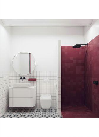 50平米小户型日式风格卫生间图