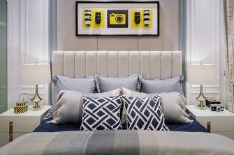 120平米三室两厅英伦风格卧室图片