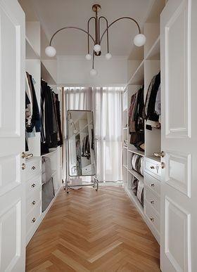 110平米三室一廳北歐風格衣帽間裝修案例