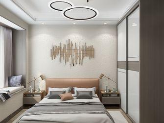 120平米四现代简约风格卧室装修案例