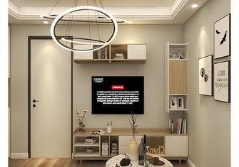 40平米小户型现代简约风格客厅欣赏图