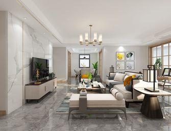 140平米三室两厅新古典风格客厅设计图