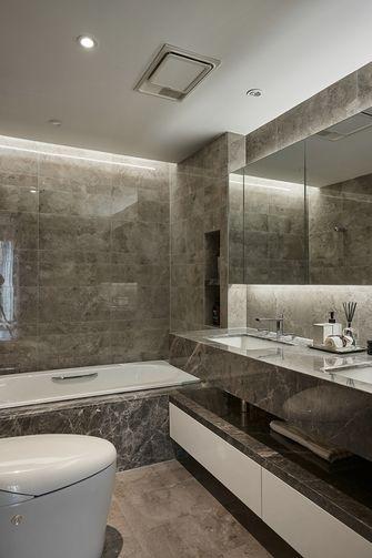 130平米三室两厅混搭风格卫生间图片