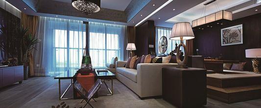 120平米东南亚风格客厅装修案例