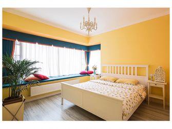经济型110平米四室两厅英伦风格卧室图片