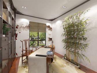 70平米一室两厅中式风格书房图片