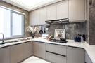 130平米三室两厅法式风格厨房图片
