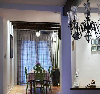 130平米三地中海风格餐厅图片