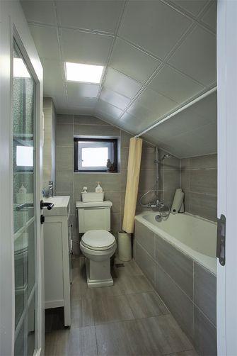 140平米复式现代简约风格卫生间图片