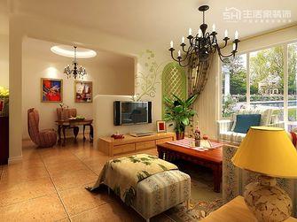 20万以上140平米三室四厅田园风格客厅图片