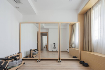 90平米复式日式风格健身室装修图片大全
