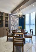 10-15万140平米四室两厅混搭风格餐厅图片大全