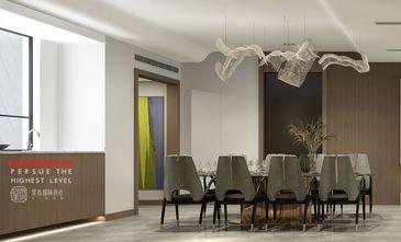 140平米四室四厅现代简约风格餐厅装修图片大全