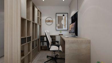 110平米现代简约风格书房装修案例
