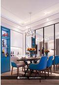 140平米三英伦风格餐厅装修案例