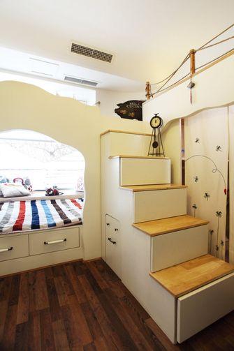 10-15万130平米三室两厅混搭风格楼梯欣赏图
