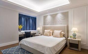 130平米复式美式风格卧室效果图