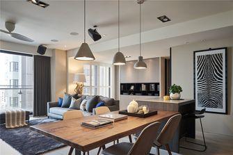 140平米四室两厅现代简约风格餐厅图片