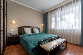 90平米三室两厅中式风格卧室设计图
