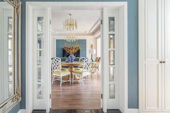 140平米三室两厅混搭风格餐厅图片大全