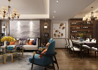 140平米三室两厅中式风格客厅图