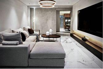 110平米现代简约风格客厅图片大全