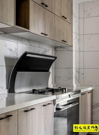 140平米四室一厅北欧风格厨房欣赏图