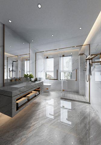 140平米四室三厅现代简约风格卫生间设计图