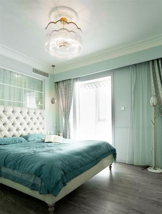 120平米三美式风格卧室装修效果图