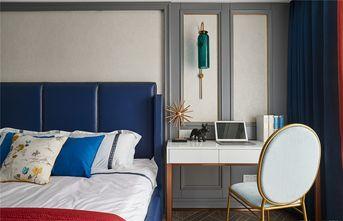 90平米三室两厅法式风格卧室图片大全
