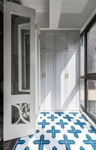 140平米三室两厅美式风格阳台装修图片大全