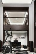 140平米别墅中式风格健身室装修效果图