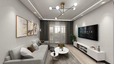 70平米三室一厅北欧风格客厅图片