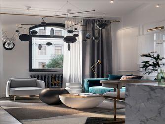 100平米三室一厅现代简约风格客厅装修案例