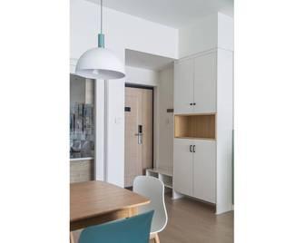 80平米三室两厅北欧风格玄关欣赏图