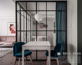 70平米一室两厅北欧风格餐厅图片大全