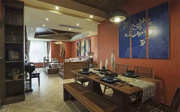 120平米三东南亚风格客厅设计图