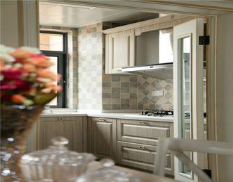 130平米三室两厅地中海风格厨房图片