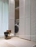 100平米三室两厅日式风格阳台效果图