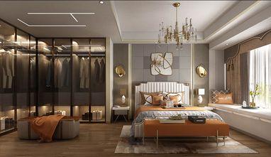 100平米三室一厅美式风格卧室装修效果图