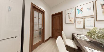 富裕型70平米公寓现代简约风格玄关欣赏图