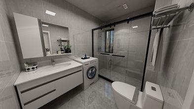 110平米三室两厅现代简约风格卫生间图片大全