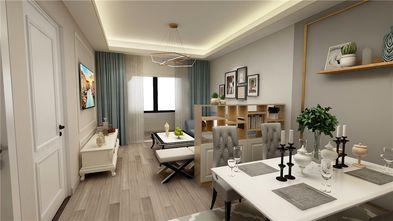 60平米美式风格客厅装修案例