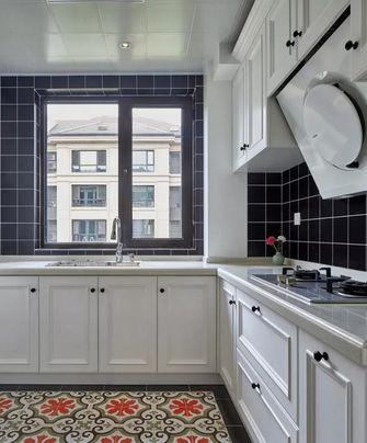 120平米复式美式风格厨房图片大全