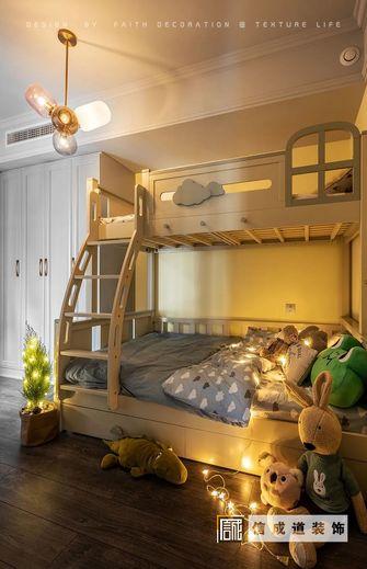110平米三室两厅美式风格儿童房图片