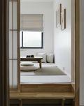 130平米四室两厅日式风格书房图